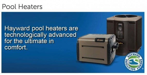Pool Equipment, Heaters