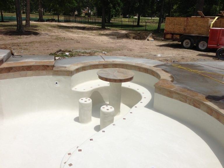pool constructing