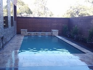 Rectangular Custom Pool