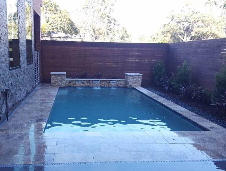 Rectangular Custom Pool